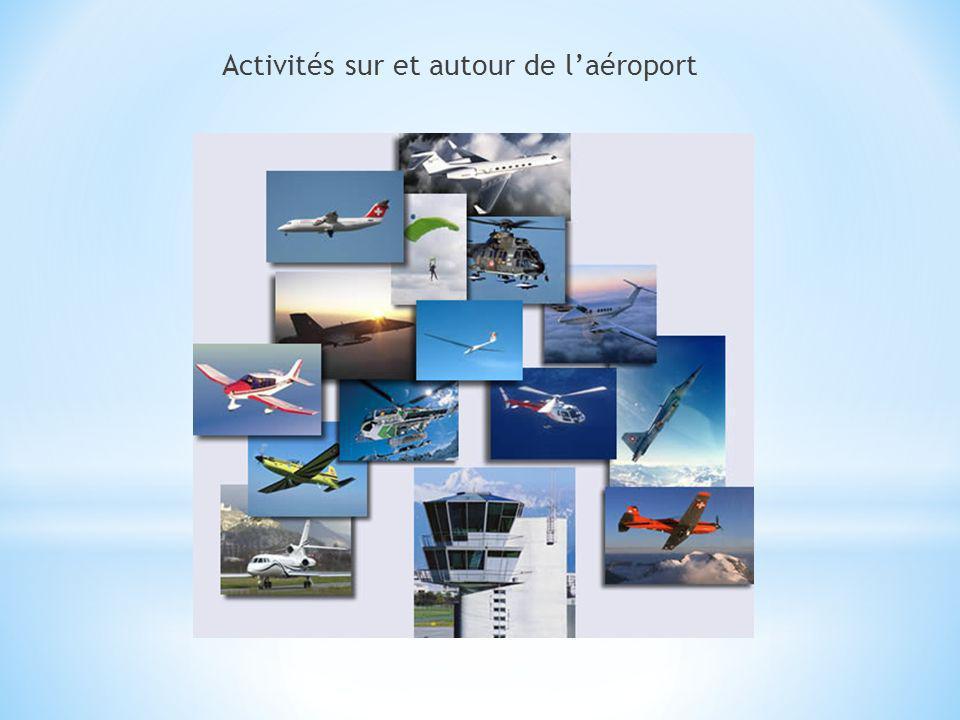 Activités sur et autour de l'aéroport