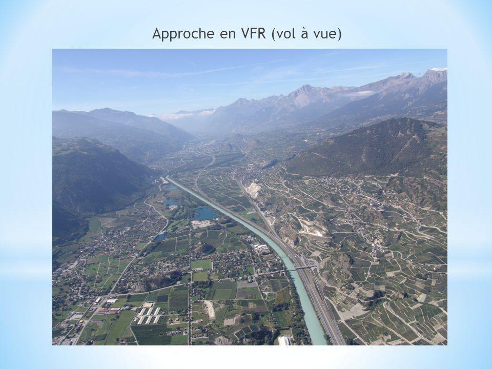 Approche en VFR (vol à vue)