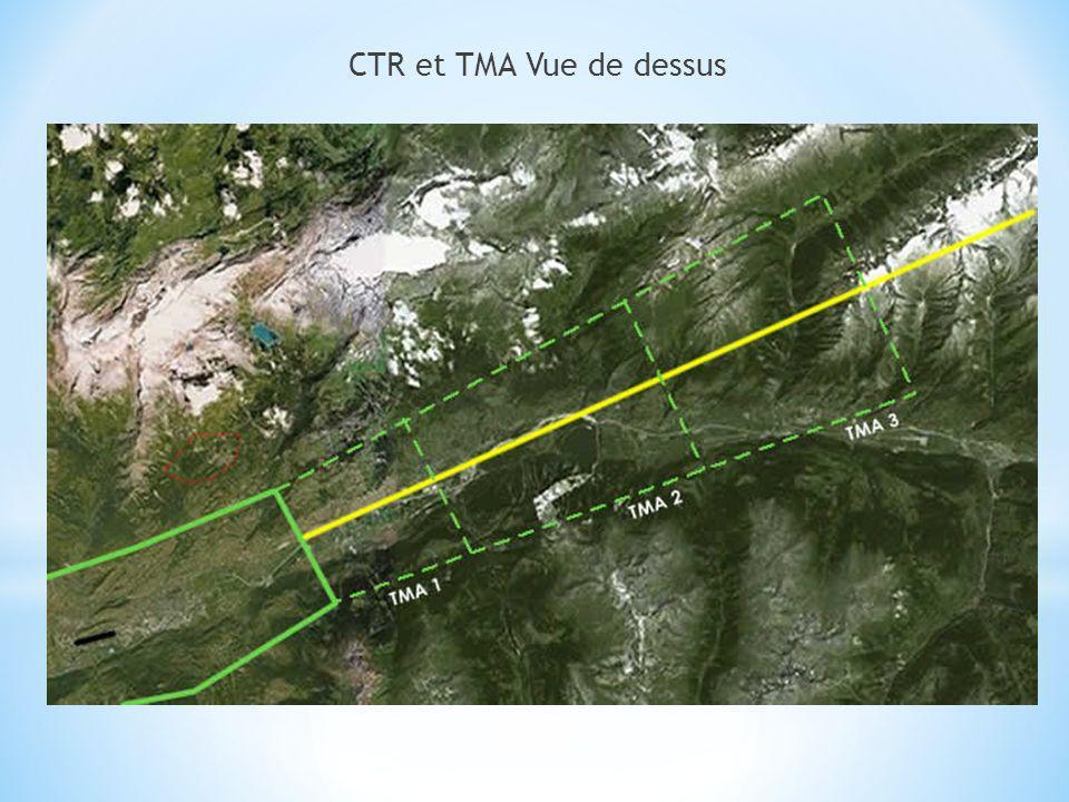 CTR et TMA Vue de dessus