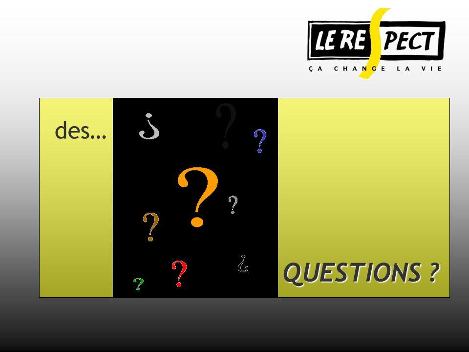 des… QUESTIONS