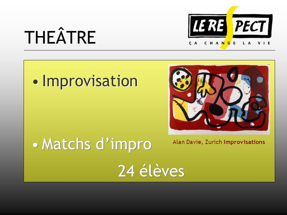 Alan Davie, Zurich Improvisations
