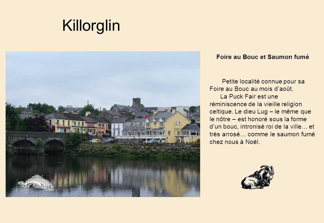 Killorglin Foire au Bouc et Saumon fumé