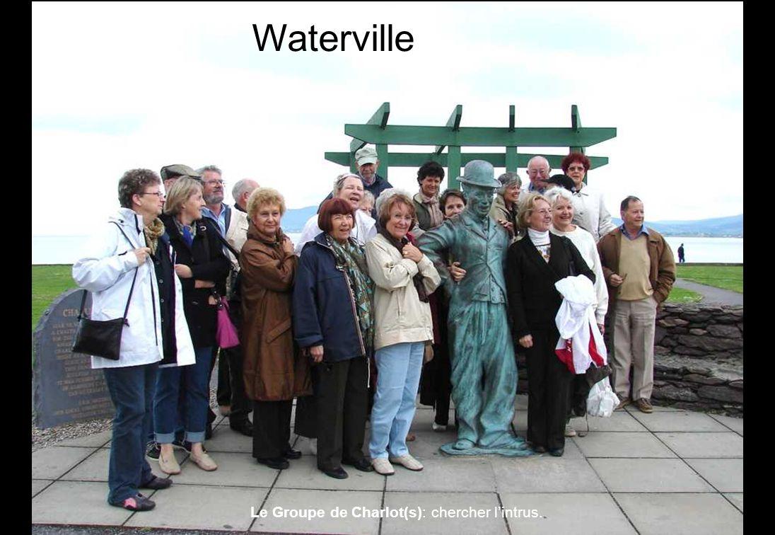 Waterville Le Groupe de Charlot(s): chercher l'intrus.