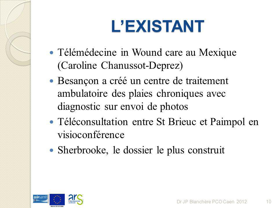L'EXISTANT Télémédecine in Wound care au Mexique (Caroline Chanussot-Deprez)