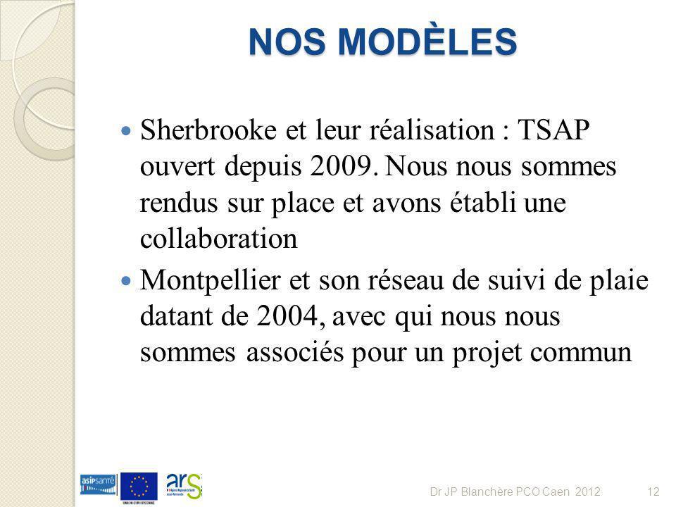 NOS MODÈLES Sherbrooke et leur réalisation : TSAP ouvert depuis 2009. Nous nous sommes rendus sur place et avons établi une collaboration.