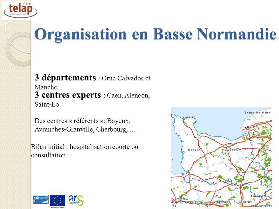 Organisation en Basse Normandie