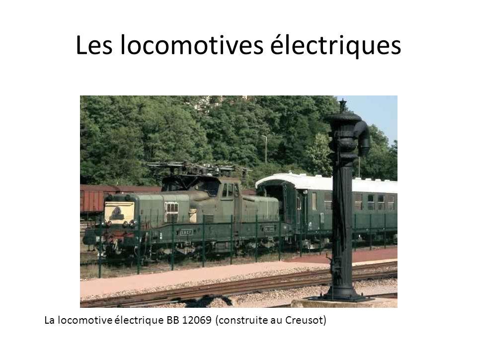 Les locomotives électriques