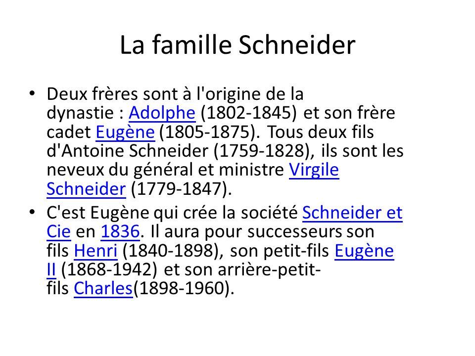 La famille Schneider