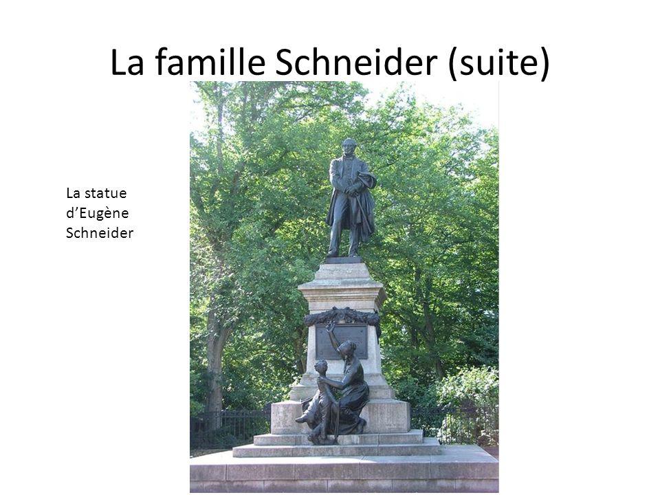 La famille Schneider (suite)