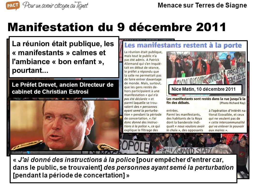 Manifestation du 9 décembre 2011