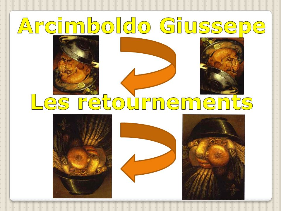 Arcimboldo Giussepe Les retournements
