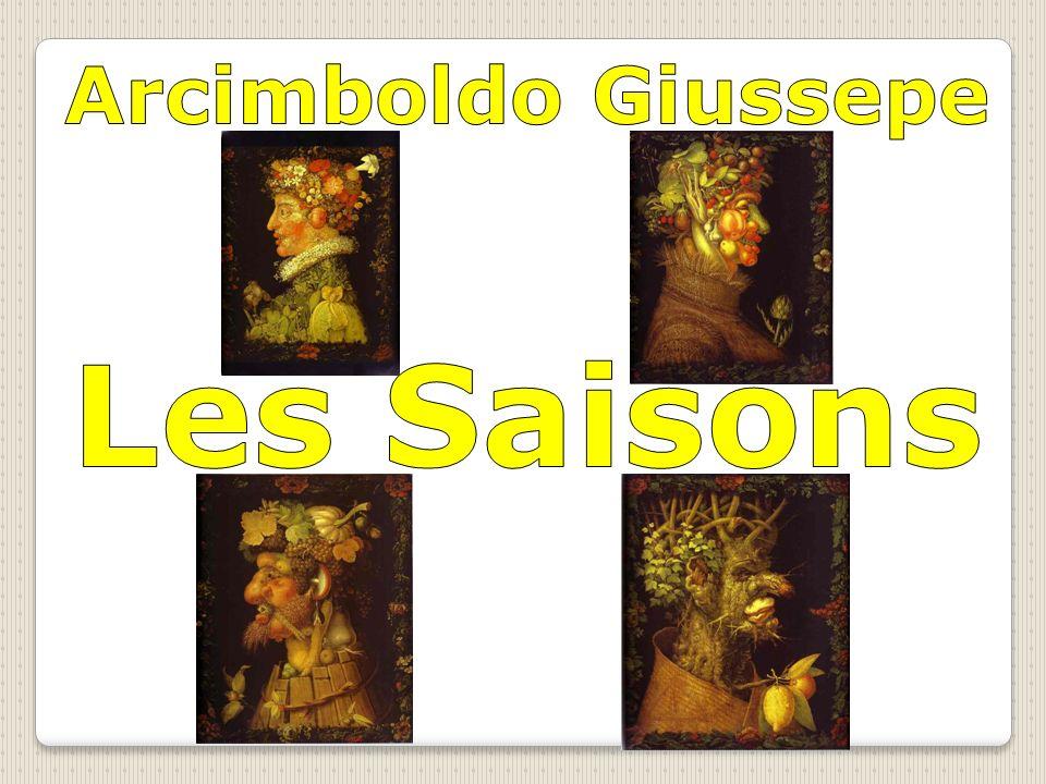 Arcimboldo Giussepe Les Saisons