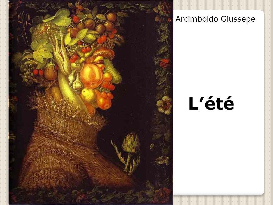 Arcimboldo Giussepe L'été
