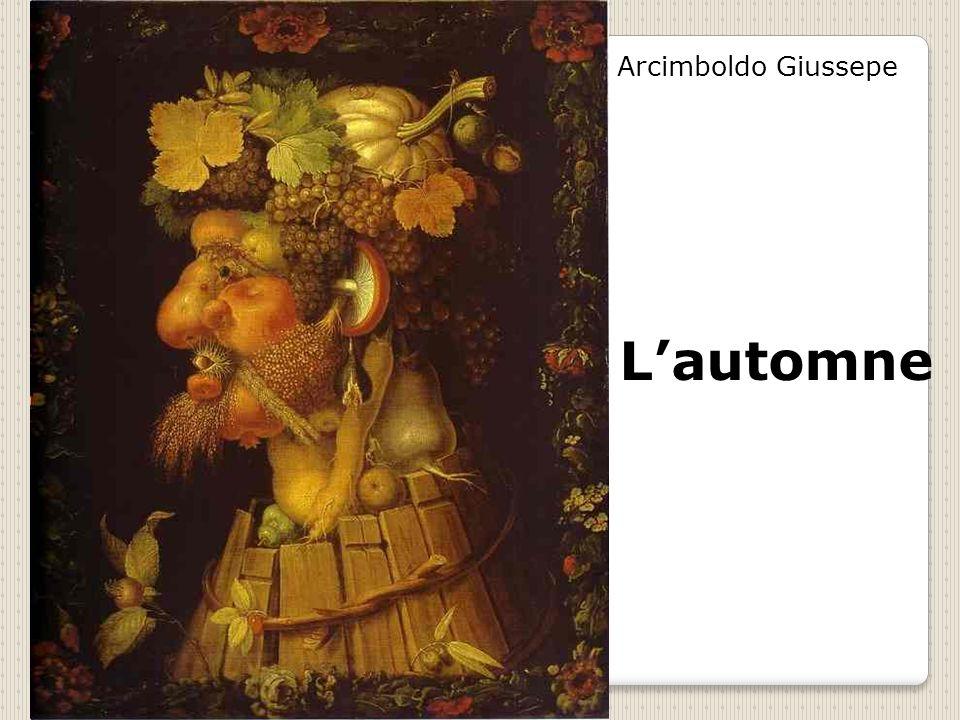 Arcimboldo Giussepe L'automne
