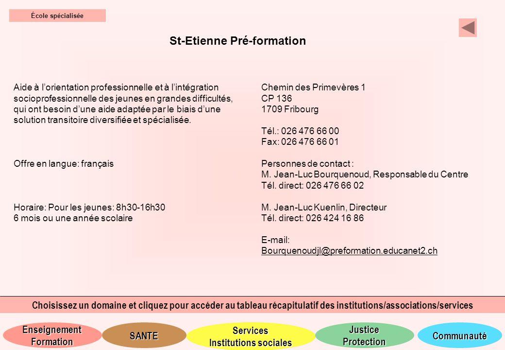 St-Etienne Pré-formation