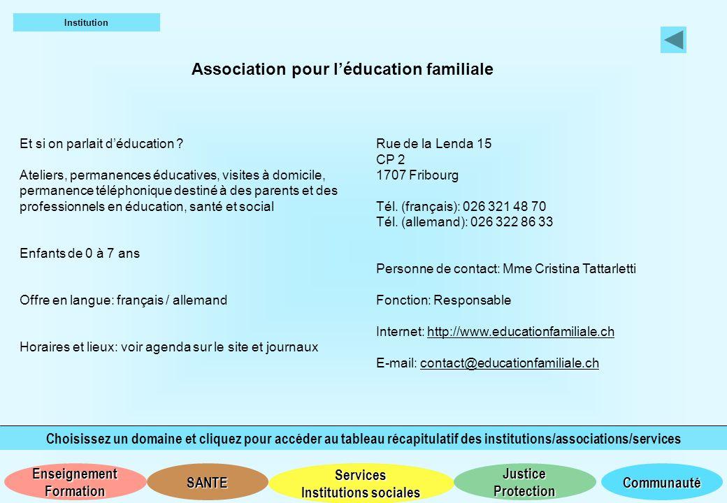 Association pour l'éducation familiale