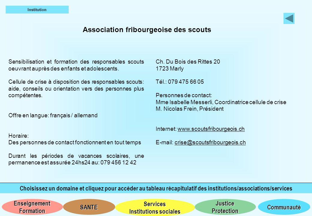Association fribourgeoise des scouts