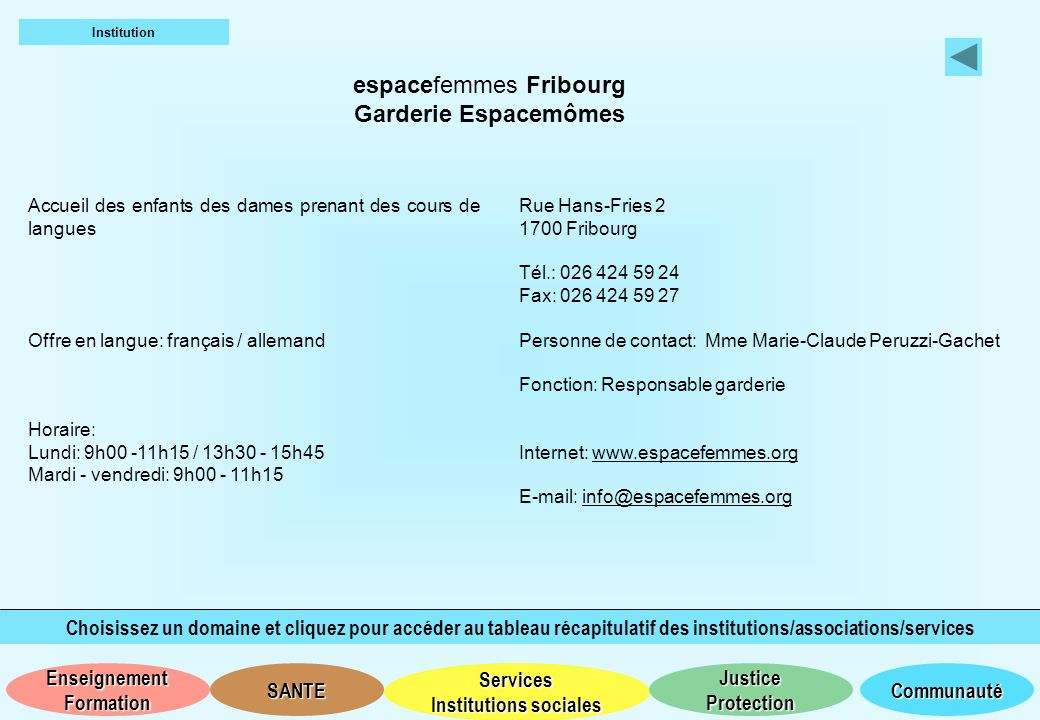 espacefemmes Fribourg