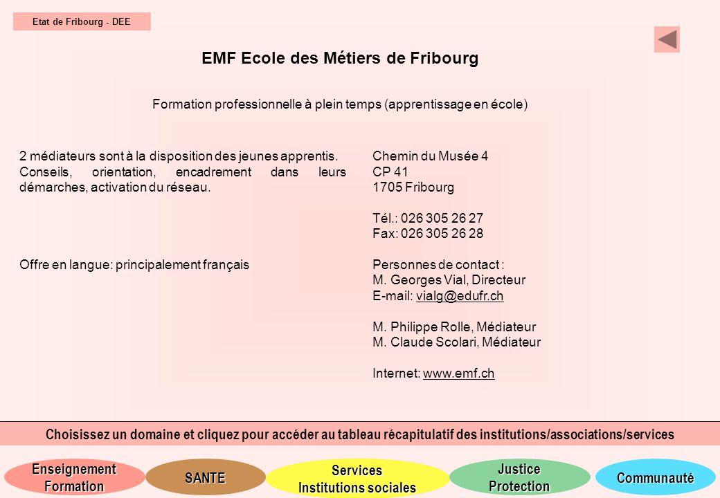 EMF Ecole des Métiers de Fribourg