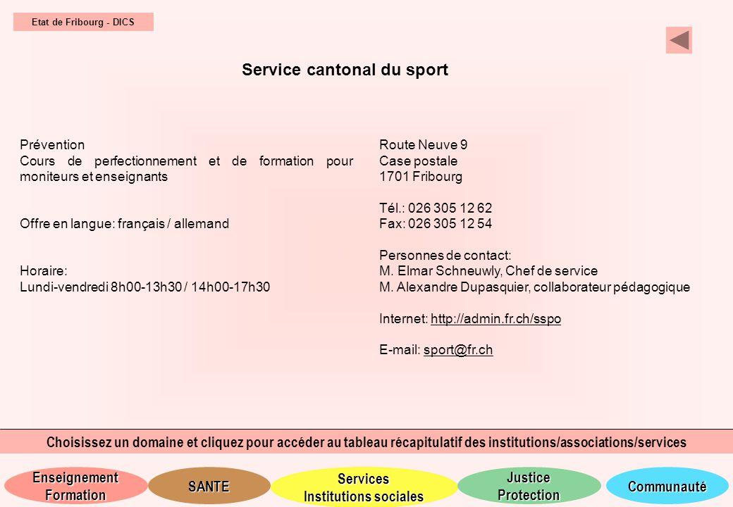 Service cantonal du sport