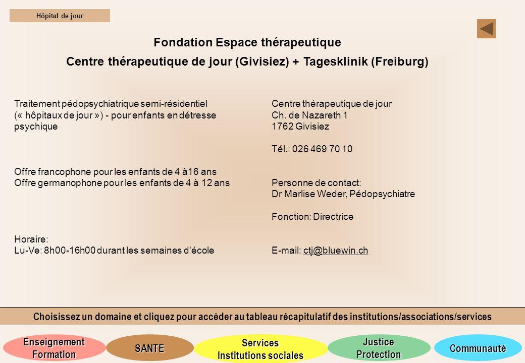 Fondation Espace thérapeutique