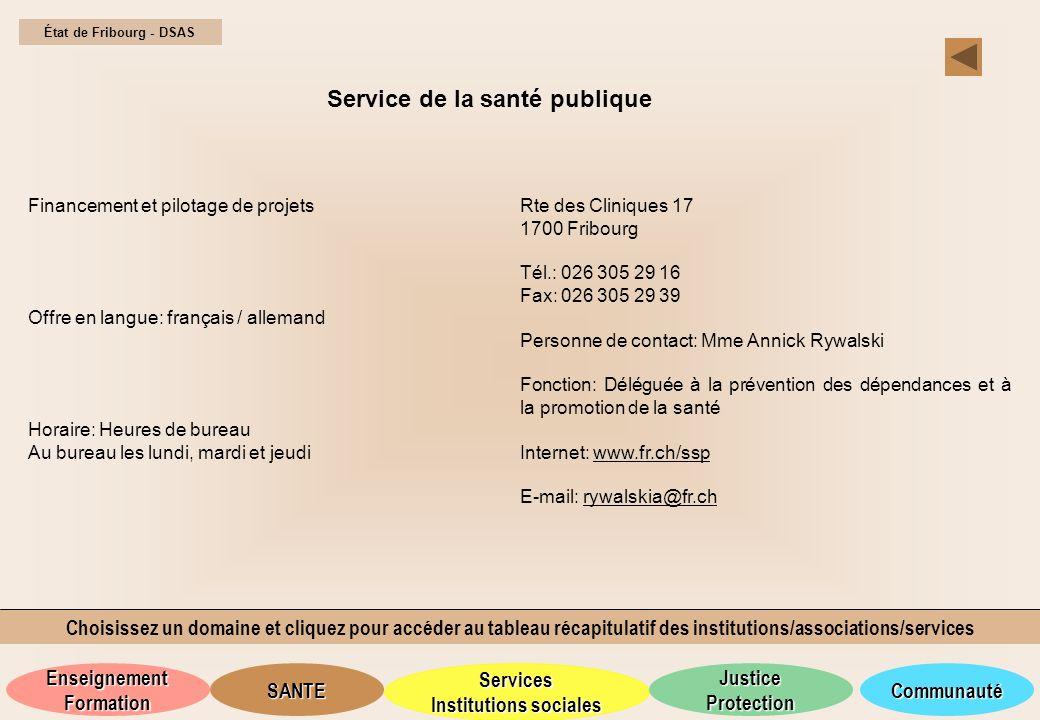 Service de la santé publique