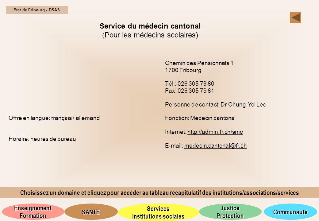 Service du médecin cantonal