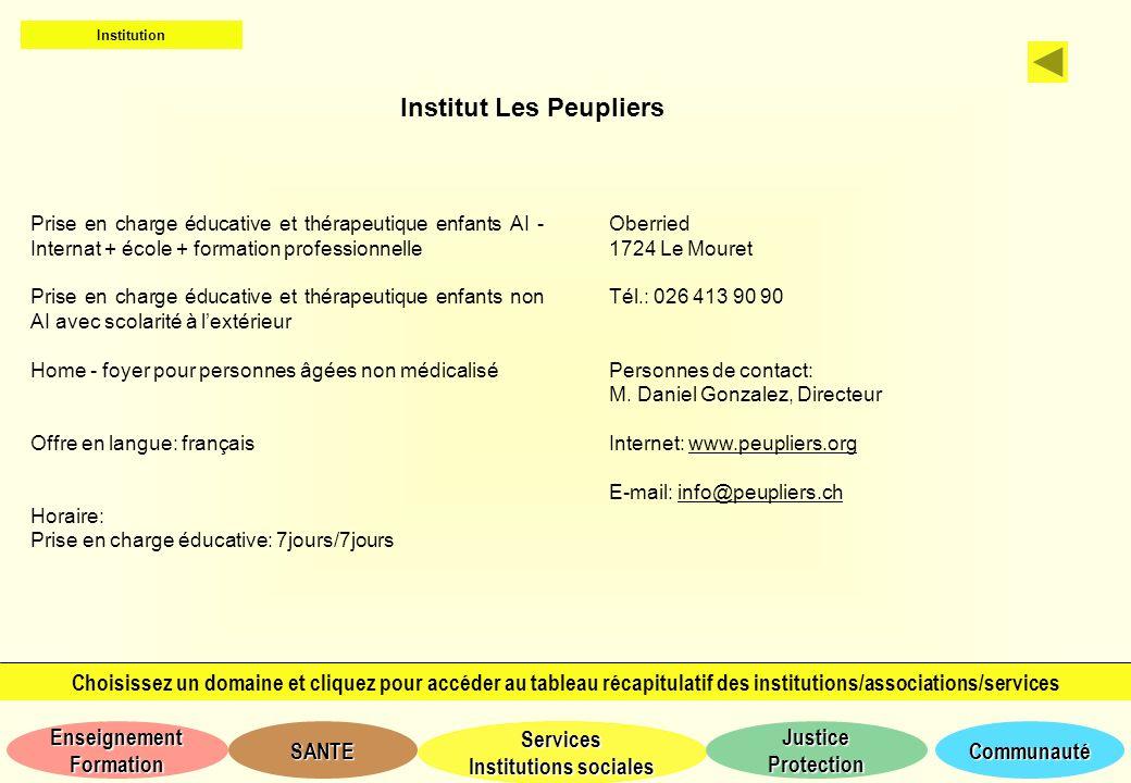 Institut Les Peupliers