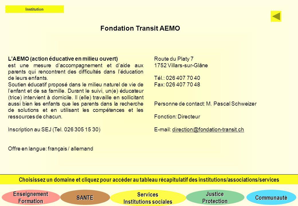 Fondation Transit AEMO