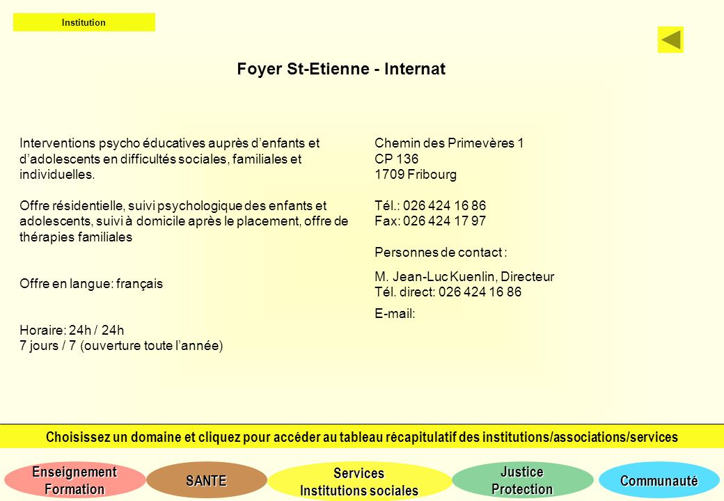 Foyer St-Etienne - Internat