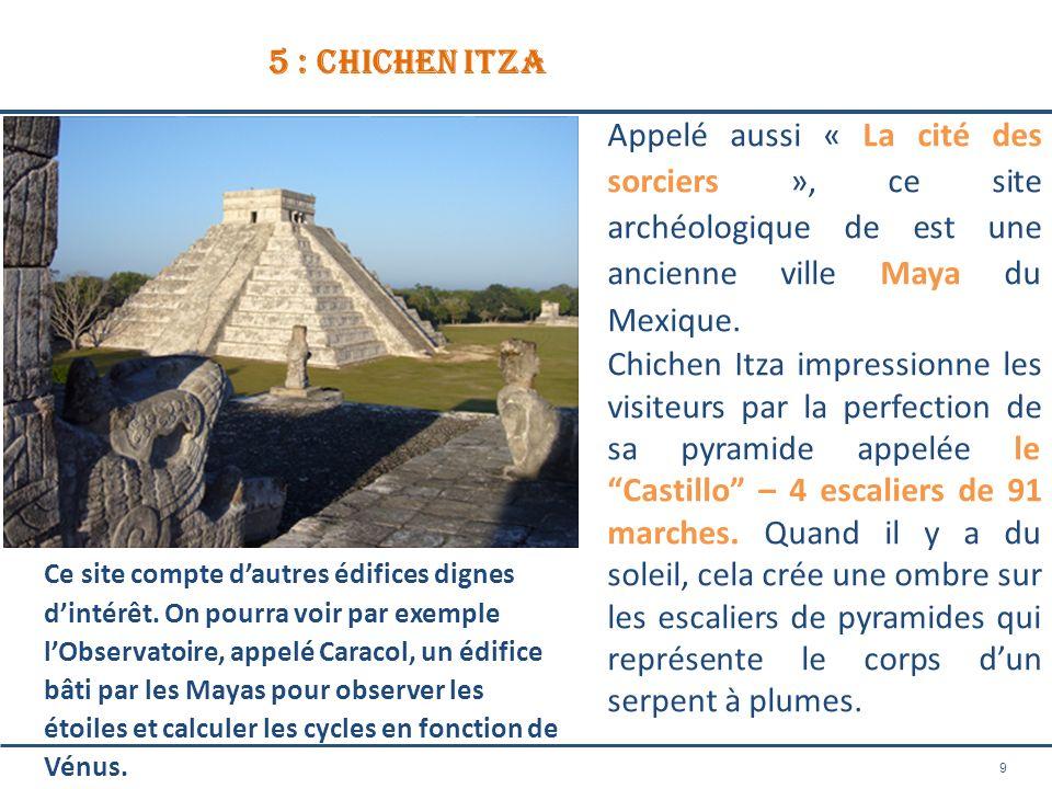 5 : chichen itza