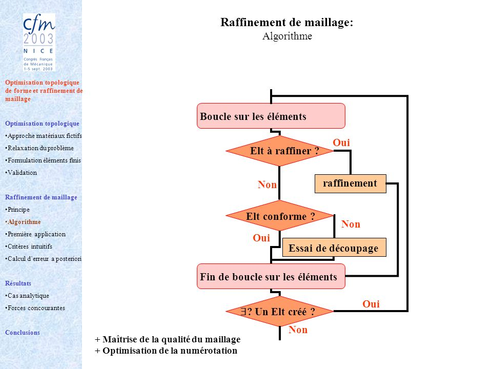 Raffinement de maillage: