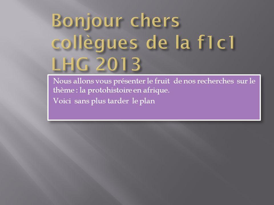 Bonjour chers collègues de la f1c1 LHG 2013