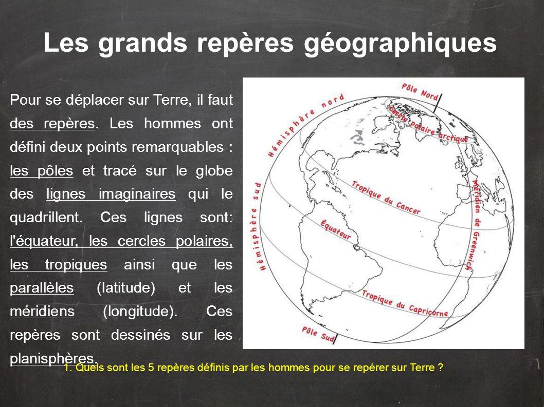 Les grands repères géographiques