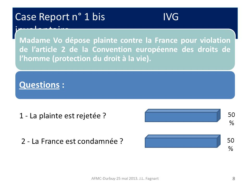 Case Report n° 1 bis IVG involontaire