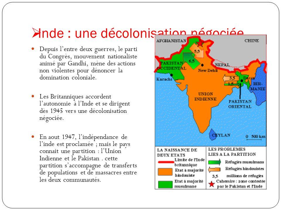 Inde : une décolonisation négociée