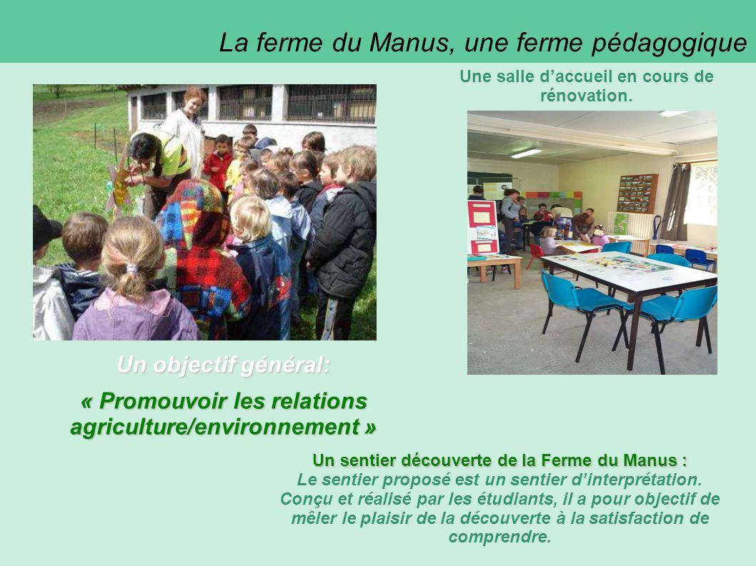 La ferme du Manus, une ferme pédagogique