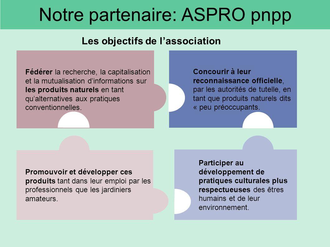 Notre partenaire: ASPRO pnpp