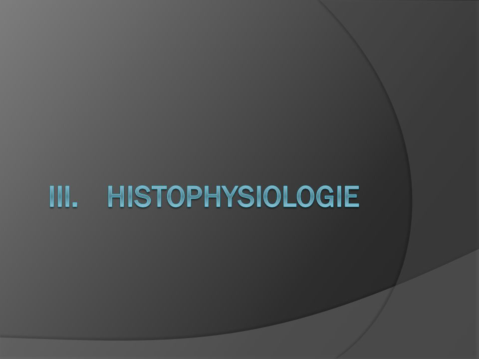 Histophysiologie