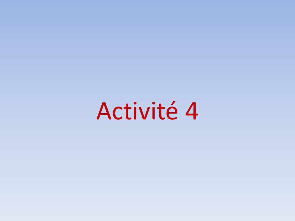 Activité 4