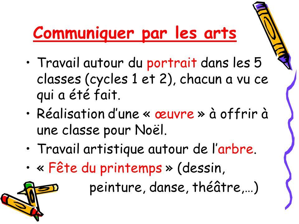 Communiquer par les arts