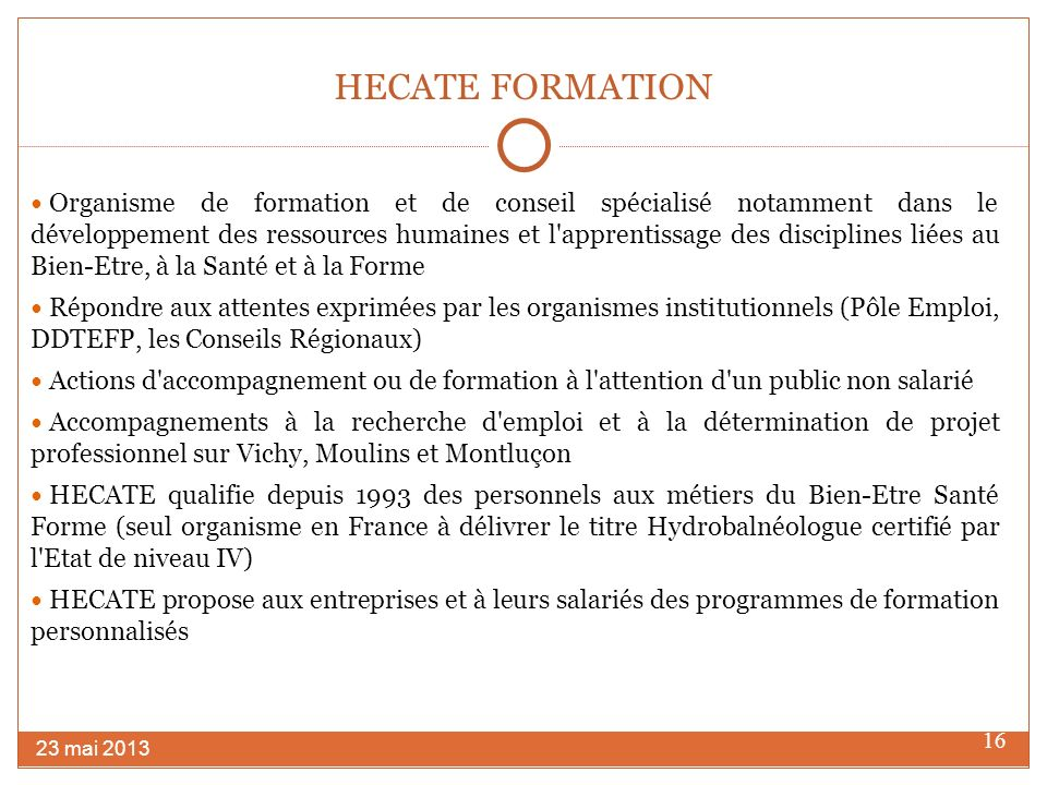 HECATE FORMATION