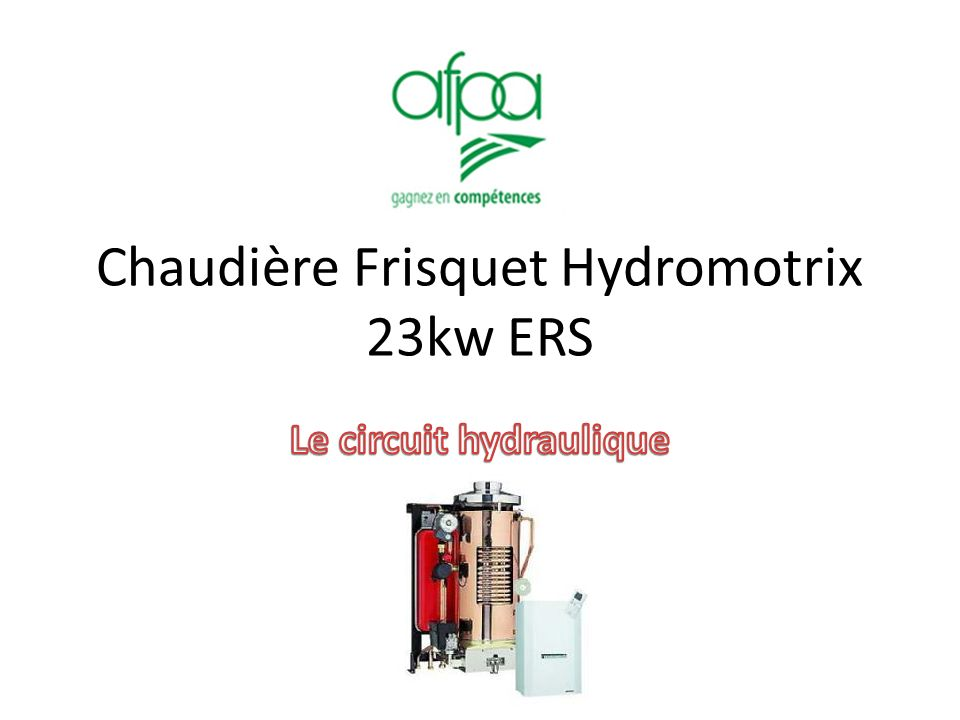 chaudi re frisquet hydromotrix 23kw ers ppt video online t l charger. Black Bedroom Furniture Sets. Home Design Ideas
