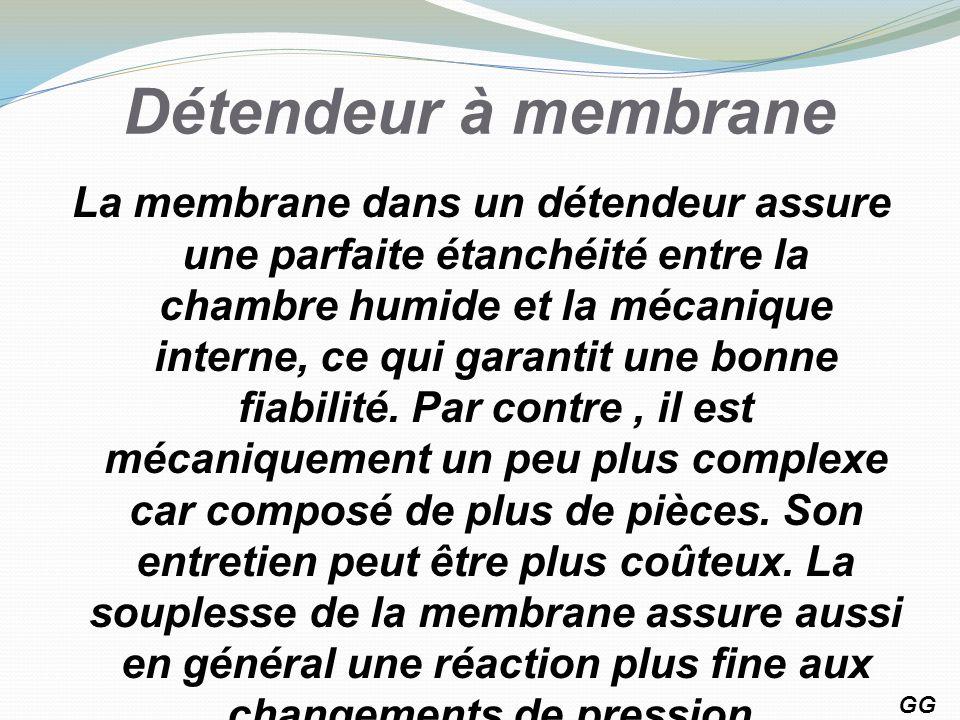 Détendeur à membrane