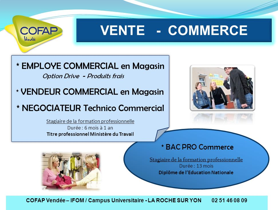 VENTE - COMMERCE * NEGOCIATEUR Technico Commercial