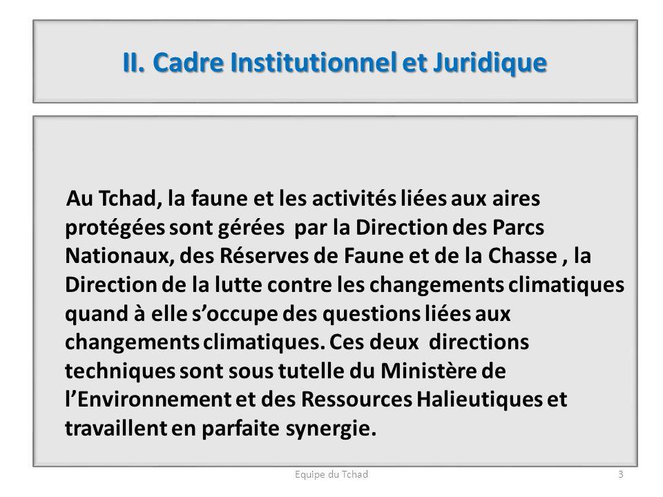 II. Cadre Institutionnel et Juridique