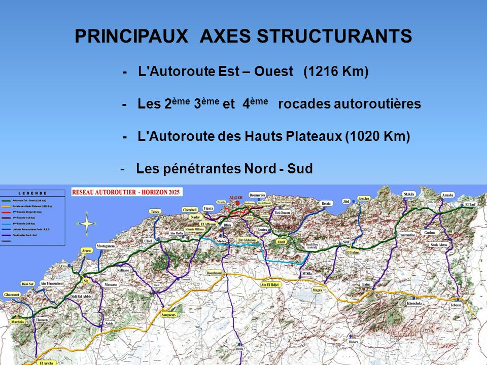 PRINCIPAUX AXES STRUCTURANTS