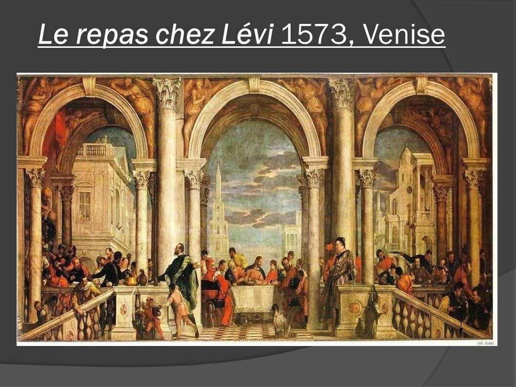 Le repas chez Lévi 1573, Venise