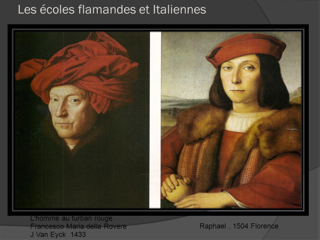 Les écoles flamandes et Italiennes