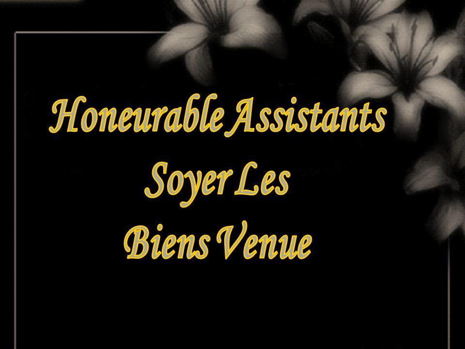 Honeurable Assistants